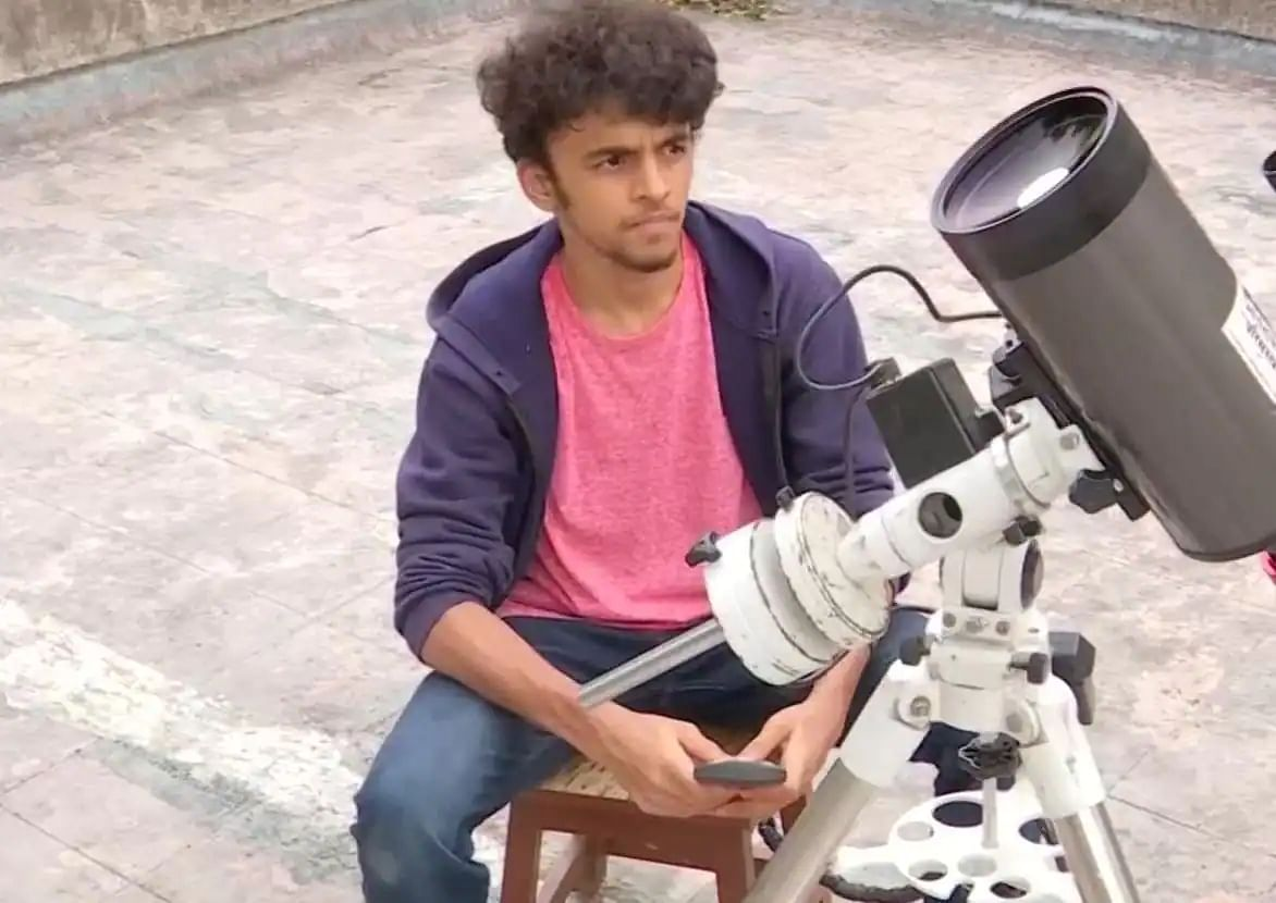 Emirati takes photo of galaxy 31 million light years away from the Earth