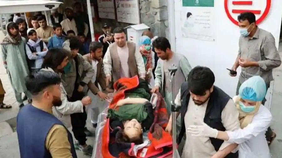Blasts targetting Afghan school in Kabul kill 40, injure dozens