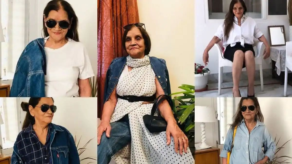 Age is just a number: This 76-year-old Granny beats all fashion influencers with her trendy looks