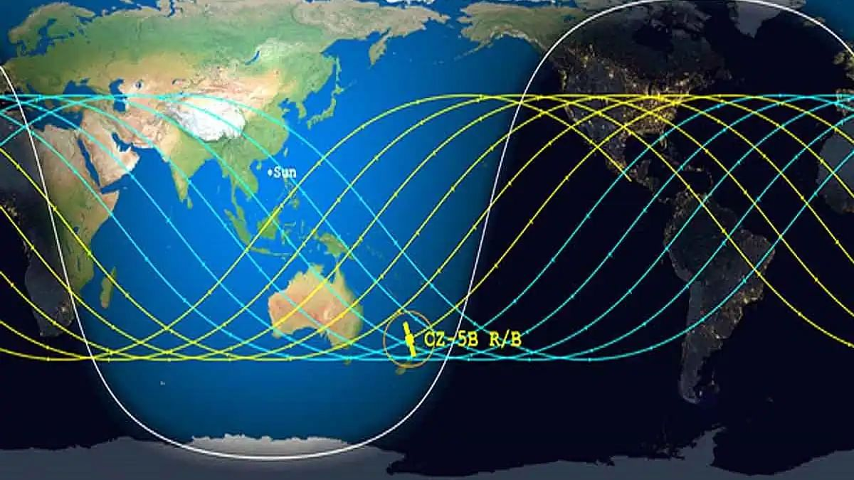 Long March 5B, Chinese rocket debris likely to hit earth in next 24 hours