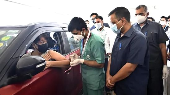 70 people vaccinated on 1st day of Delhi's first drive-through centre