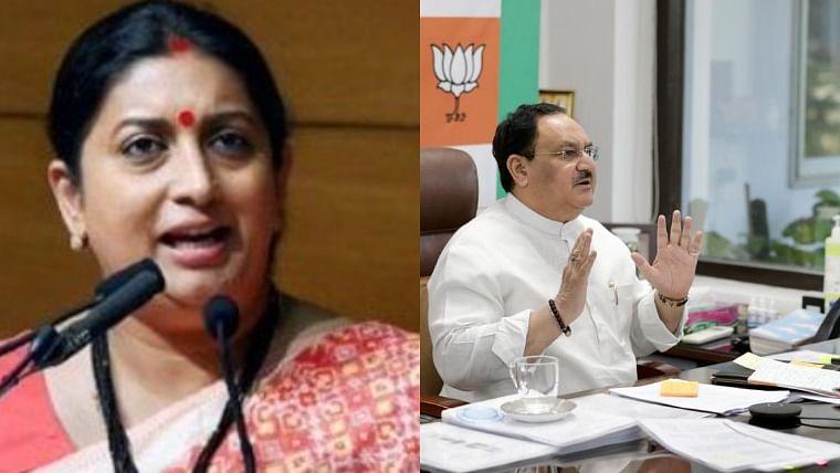 Toolkit row: Cong asks Twitter to permanently suspend accounts of Nadda, Smriti