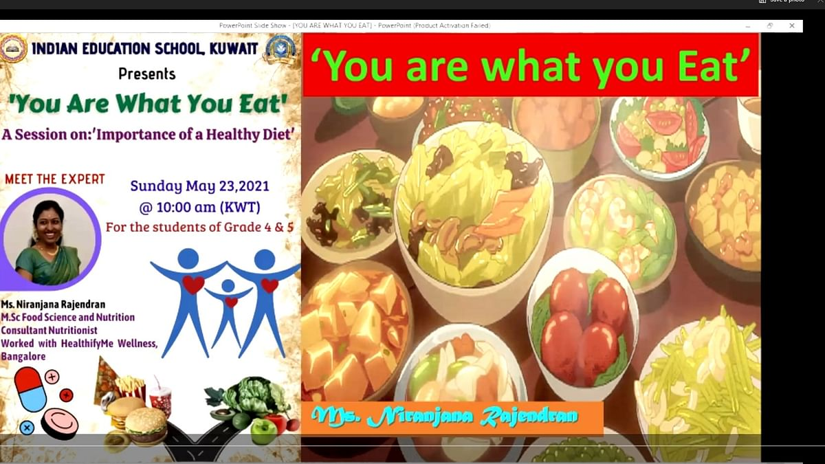 Bhavans IES Conducts a Session on 'You Are What You Eat'