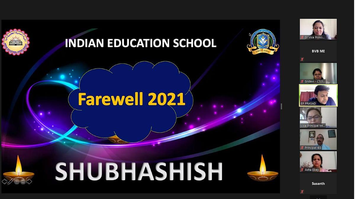 Shubhashish, IES's Adieu to Its Twelfth Graders