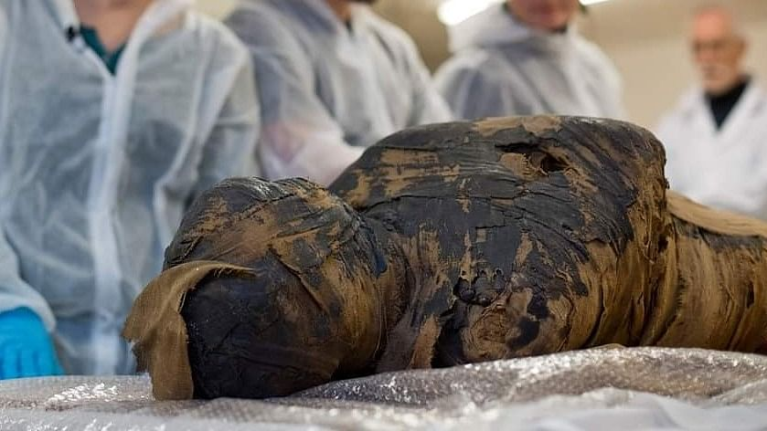 For the time ever: Polish researchers discover a pregnant Egyptian mummy