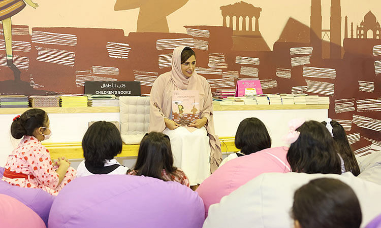 Abu Dhabi Crown Prince allocates Dhs6m to purchase books from ADIBF for government school libraries