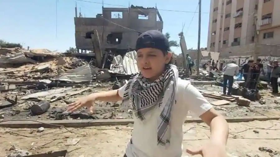 Watch: 12-year-old Gaza rapper sings emotionally on Palestine's plight