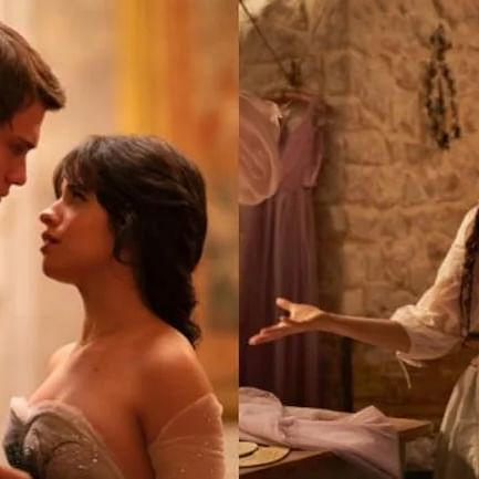 Camila Cabello's first look pics from Cinderella out!