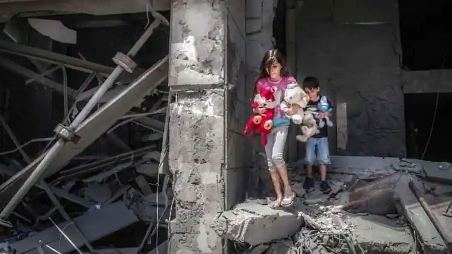 If there is a hell on earth, it is the lives of children in Gaza: UN chief