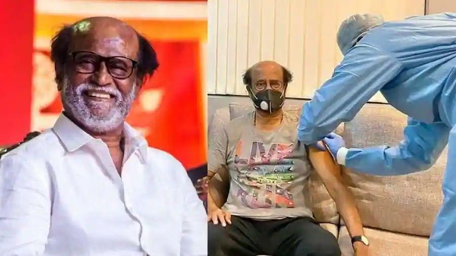 Tamil superstar Rajinikanth gets jabbed, daughter shares photo on Twitter