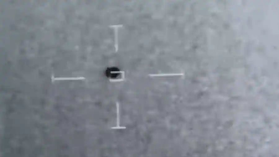 Leaked US Navy clip shows UFO disappear into water off California's coast