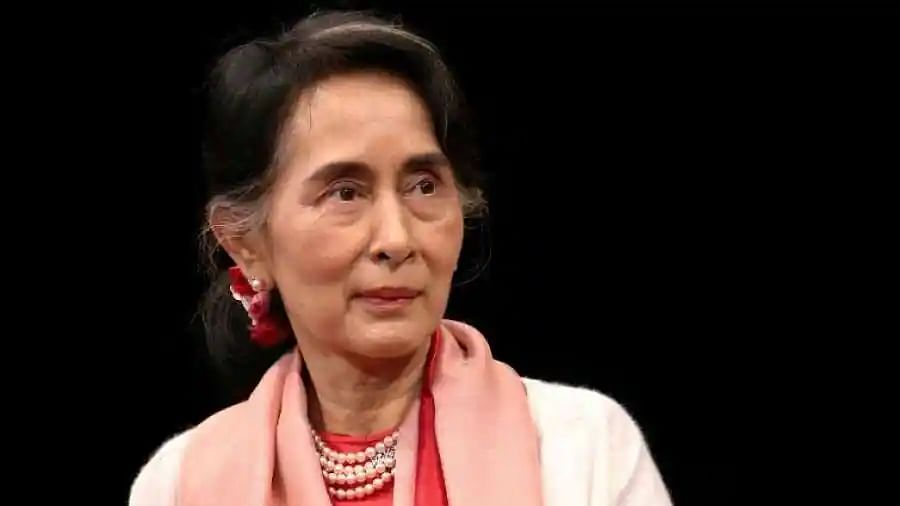 Myanmar's Suu Kyi makes first in-person court appearance, says party will exist as long as people exist