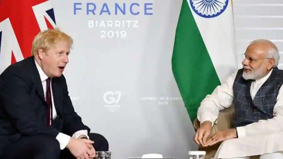 UK PM Boris Johnson announces $1.4 billion trade deal with India