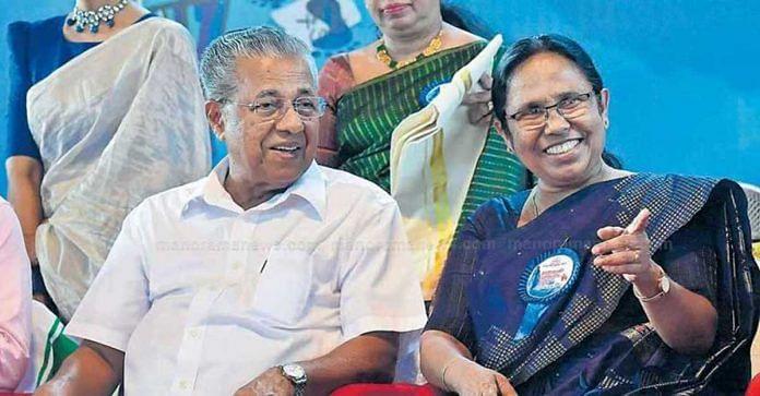 Anguish in Kerala as Pinarayi 2.0 drops KK Shailaja