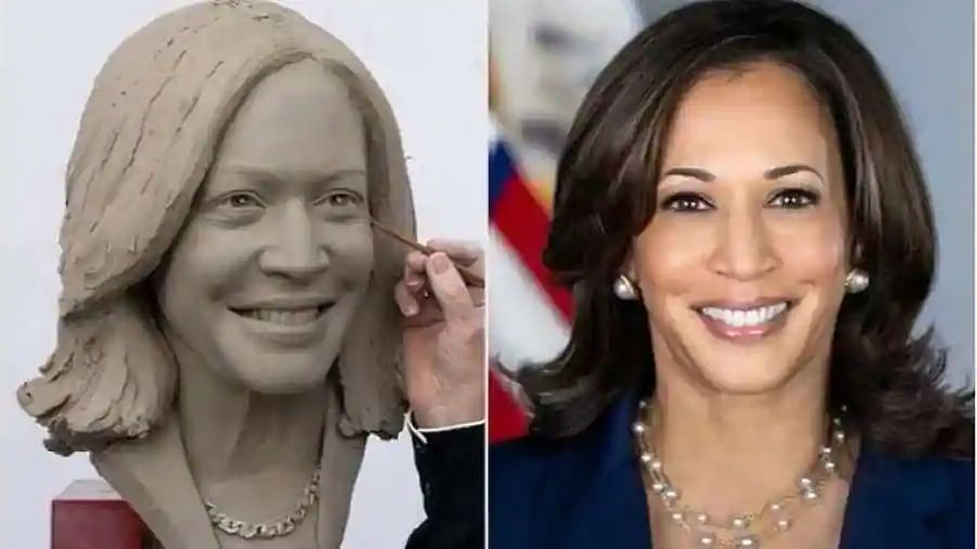 Kamala Harris becomes first US vice president to get a wax figure in Madame Tussauds