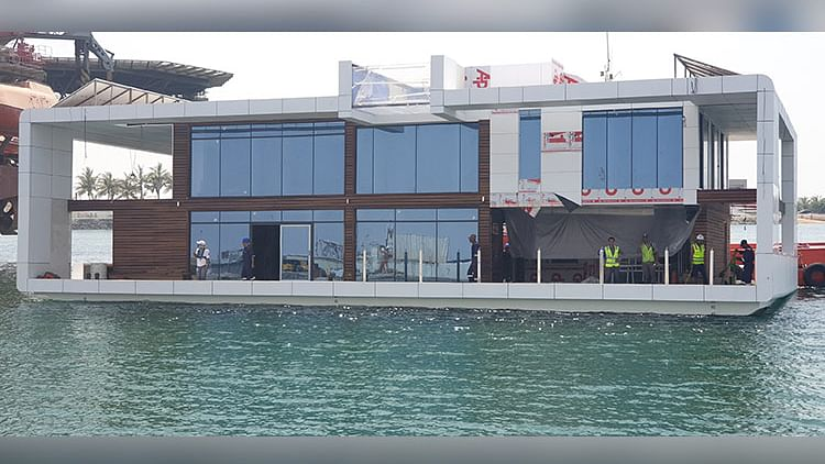 First floating resort opens in Dubai