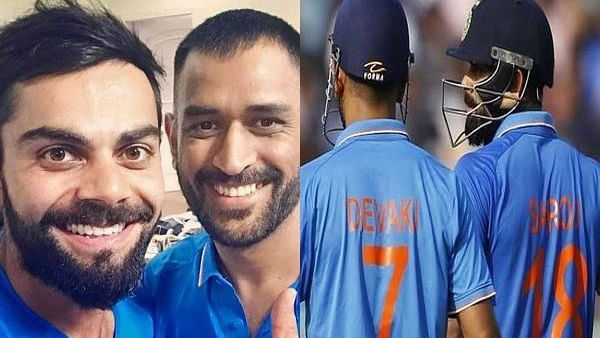 When Dhoni and Kohli-starrer Team India side proudly sported their mothers' names on ODI jerseys