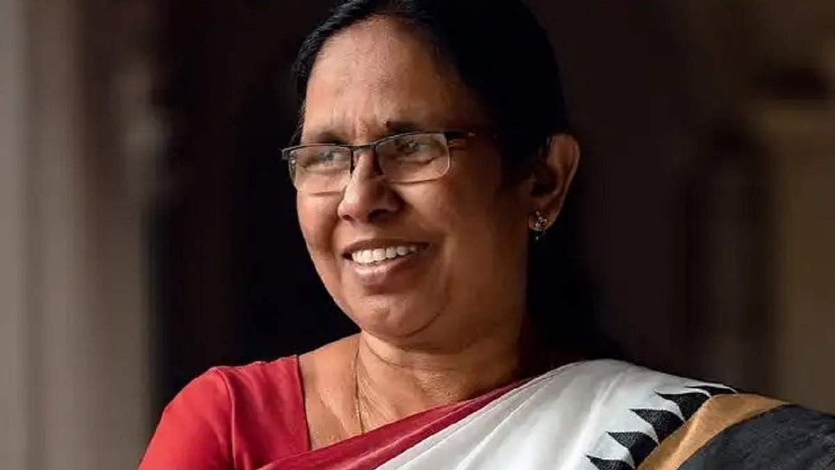 Everyone should get opportunity: Shailaja after being excluded from Kerala Cabinet