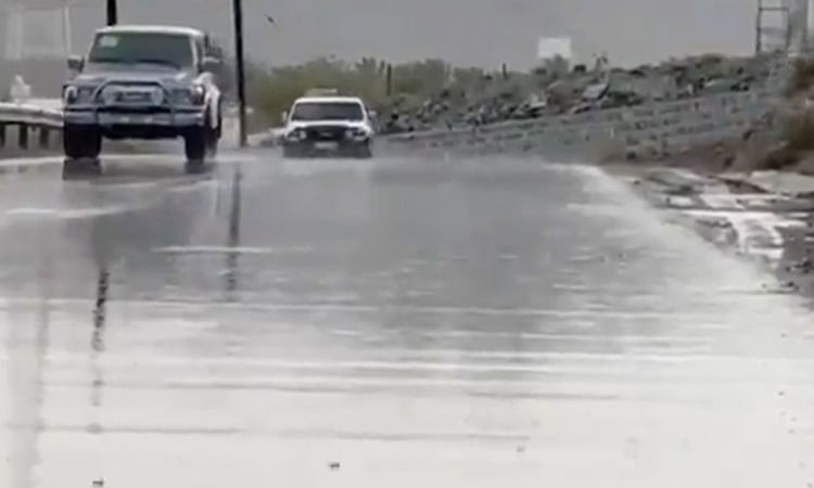 UAE carries out cloud seeding, says rain may continue in some areas, Al Ain sizzles in 49°C
