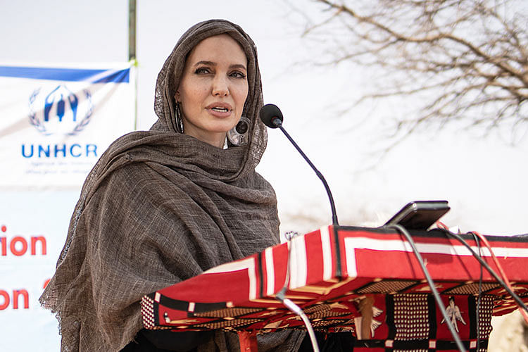 Angelina Jolie makes Instagram debut with powerful statement about Afghanistan