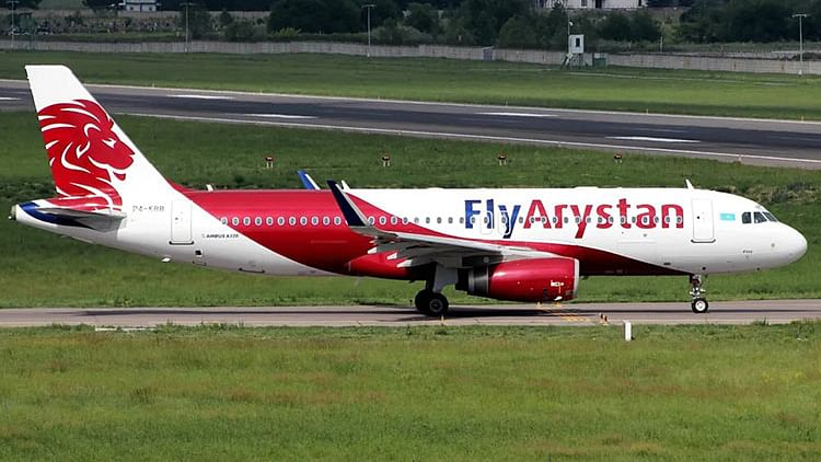 Kazakh low-cost airline 'FlyArystan' launches its first flight to Sharjah
