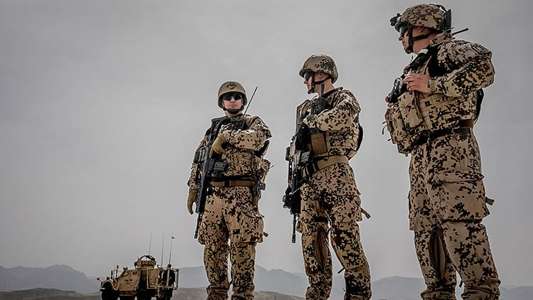 German soldiers leave Afghanistan after nearly 20 years