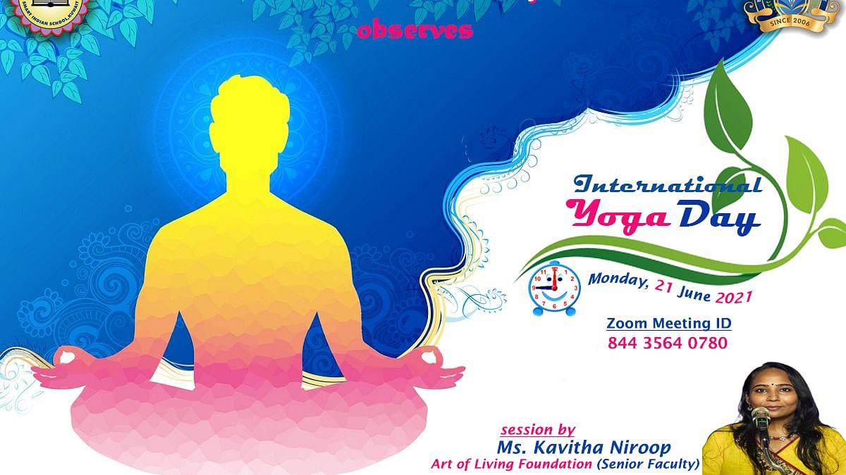 Bhavans SIS Celebrates International Yoga and World Music Days