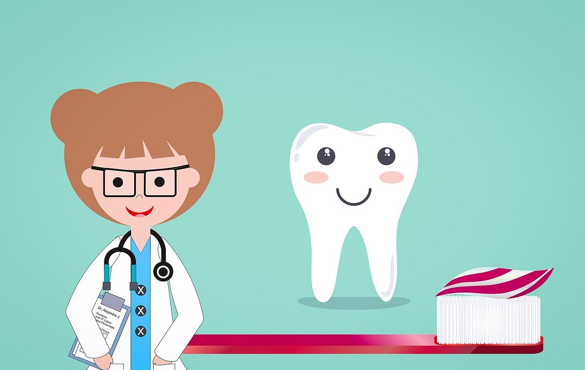 Visit your dentist annually.