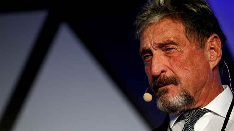 From software mogul to 'tax fugitive' and crypto evangelist, the stormy life of John McAfee