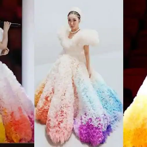 Tokyo Olympics: Japanese singer Misia's cotton candy gown left netizens gasping for breath