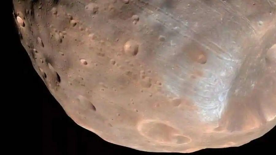 Mars' moon or potato? : NASA shares image of 'Phobos', the largest of Mars' two raggedy moons