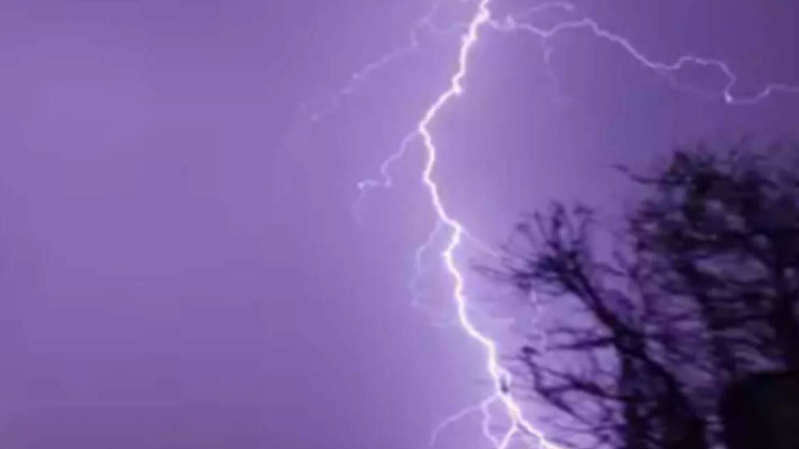 India saw 13 million dangerous lightning strikes last year