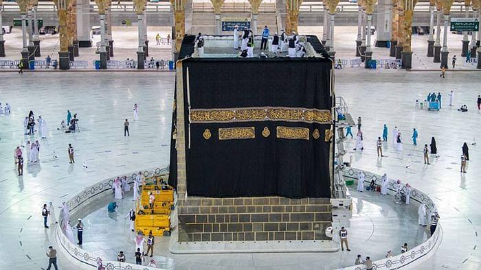 Saudi Arabia drapes Kaaba in new Kiswa