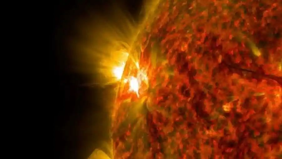 Explosion on Sun equivalent to millions of hydrogen bombs causes biggest solar flare in 4 years