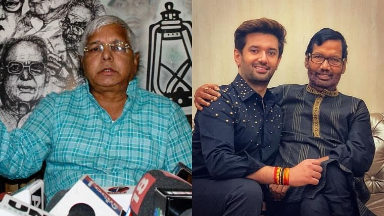 Bihar: Lalu to give 1st major speech in years today; Chirag to launch yatra