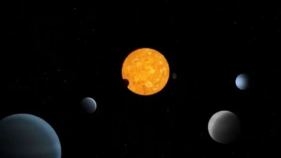 Scientists find four 'teenage' exoplanets. One of them is really special.