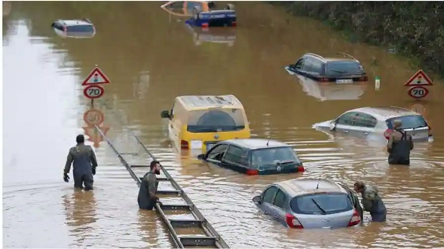 'Day of mourning': Death toll from flooding in western Europe hits 200