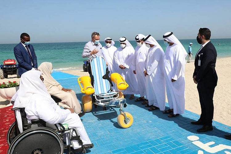 Sharjah beaches to provide wheelchairs for elderly and people of determination