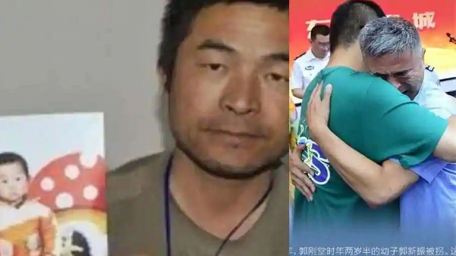 'Everything will be good now': Chinese man reunited with his son after 24 years