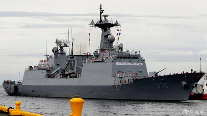 COVID-19 cases on South Korean warship off Africa rises to 247