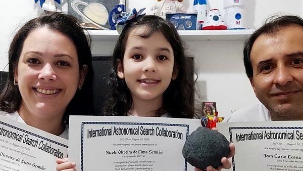 7-year-old girl from Brazil discovered 7 asteroids for NASA