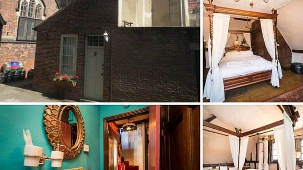 This Airbnb apartment is 600-years-old, comes with a warning of 'ghosts'