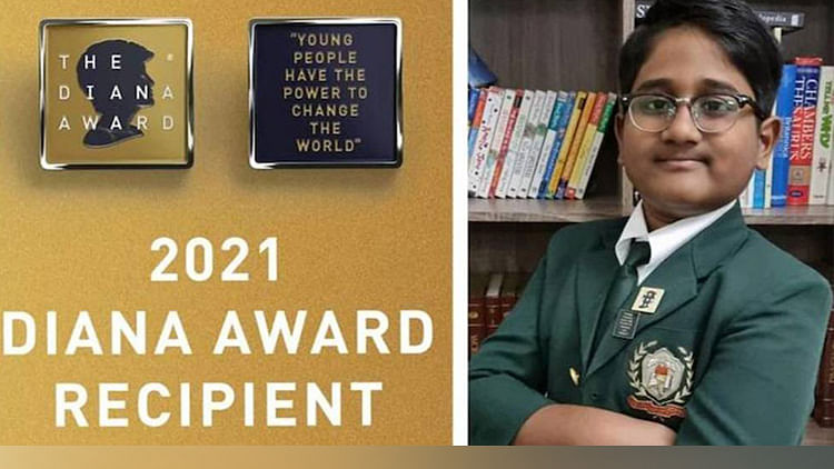 12-year-old Indian student devises educational solutions for Syrian refugee children, honoured