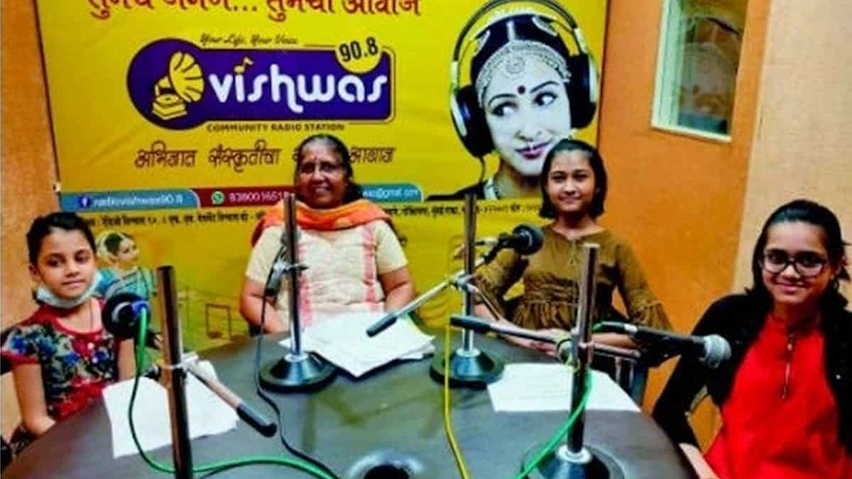How a Maha radio station helped educate poor students without smartphones