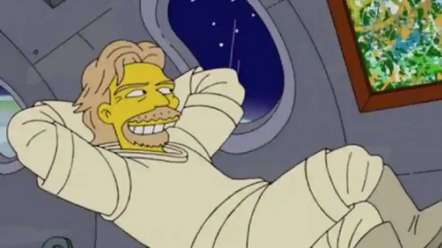 'The Simpsons' got it right again! They predicted Richard Branson's space trip in 2014