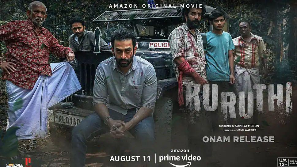 Prithviraj Sukumaran's Malayalam thriller Kuruthi to premiere on Amazon Prime Video this Onam!