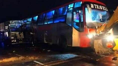Barabanki road accident: Truck rams into Volvo bus on Lucknow-Ayodhya National Highway; at least 18 dead