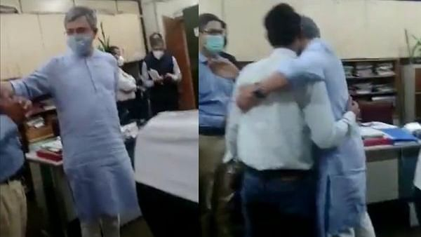 'Aao gale lagte hain': Railways minister Ashwini Vaishnaw hugs official on finding out he is from his college
