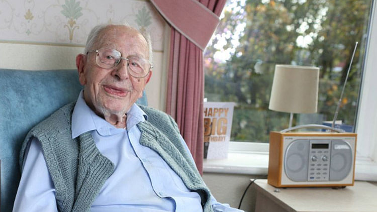 UK's oldest man reveals secret to long life