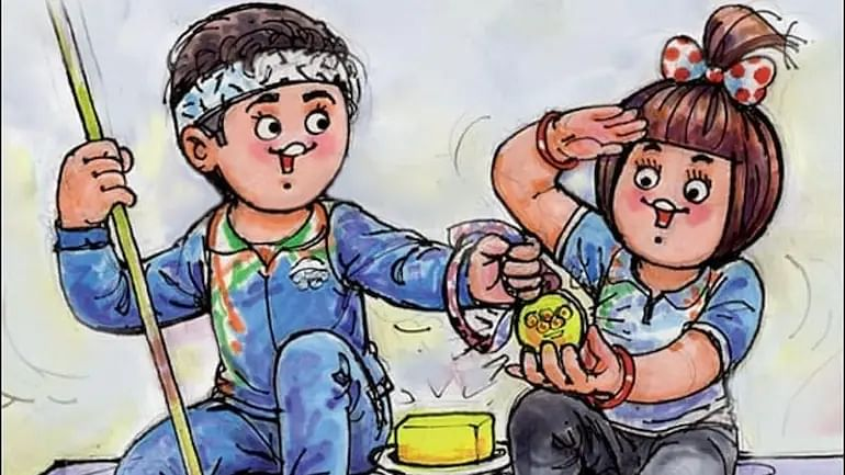 Amul's doodle 'Game of Debt' inspired by Korean show 'Squid Game' goes viral
